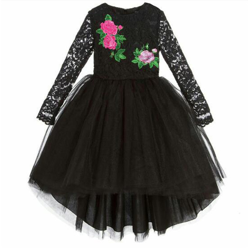 lovely_black_lace_high_low_kids_party_dress2