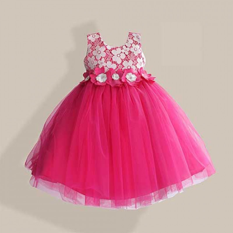 power-puff-pink-kids-party-dress