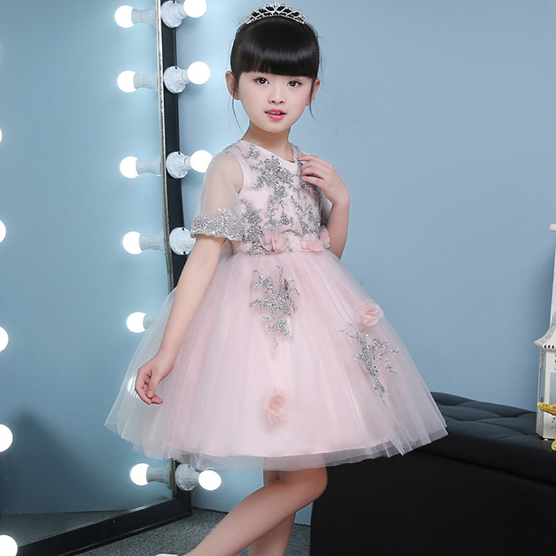 silver-embellished-lovely-peachy-kids-party-dress2