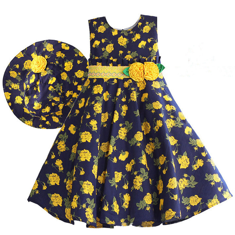 yellow-blooms-navy-blue-kids-dress-with-hat5_1
