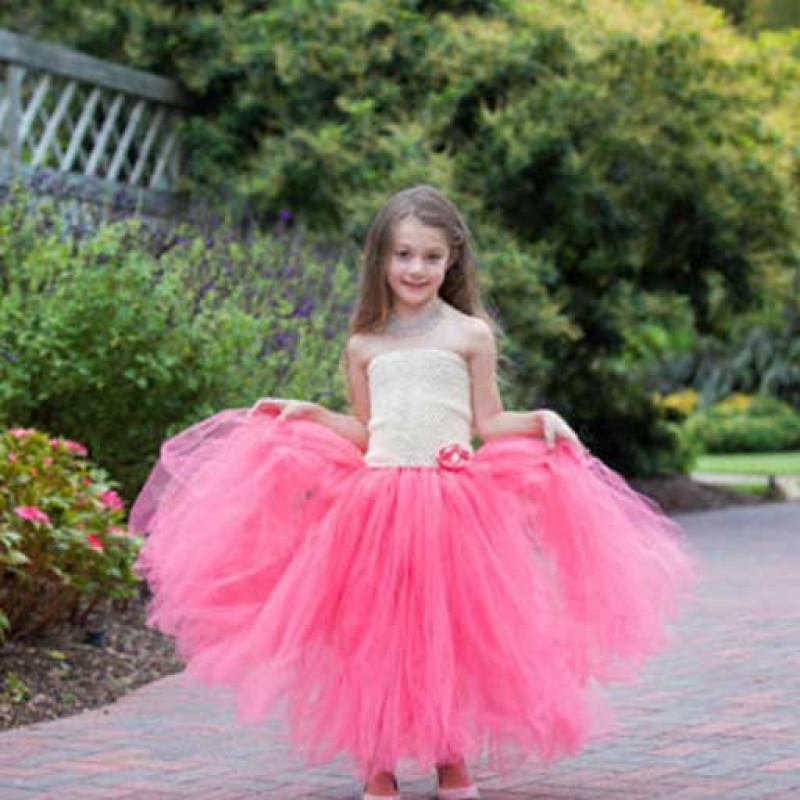 coral-lovely-tube-princess-tutu-dress4
