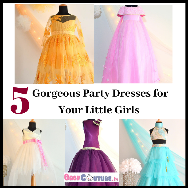 24d6f85b4f33 5 Gorgeous Party Dresses for Your Little Girls