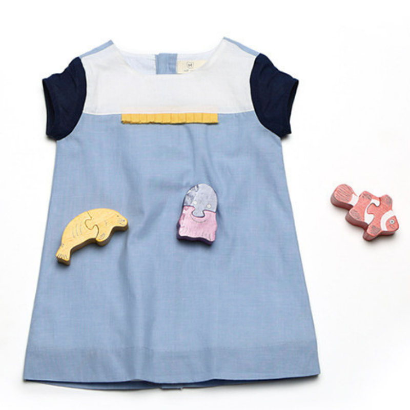 fe944b445 Marine Theme Inspired Cute   Charming Dresses For Your Little Princess