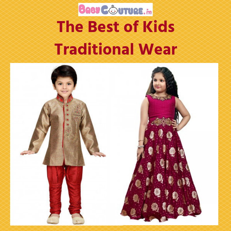 0a7e13cf506f 7 Traditional Outfits For Your Little Kids to Get The Most ...