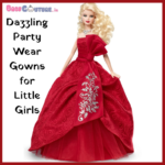 Dazzling Party Wear Gowns for Little Girls