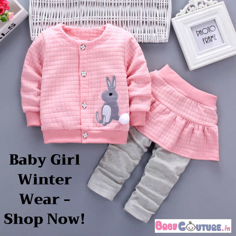 0db75922274e Few Stylish New Arrivals For Baby Girl Winter Wear