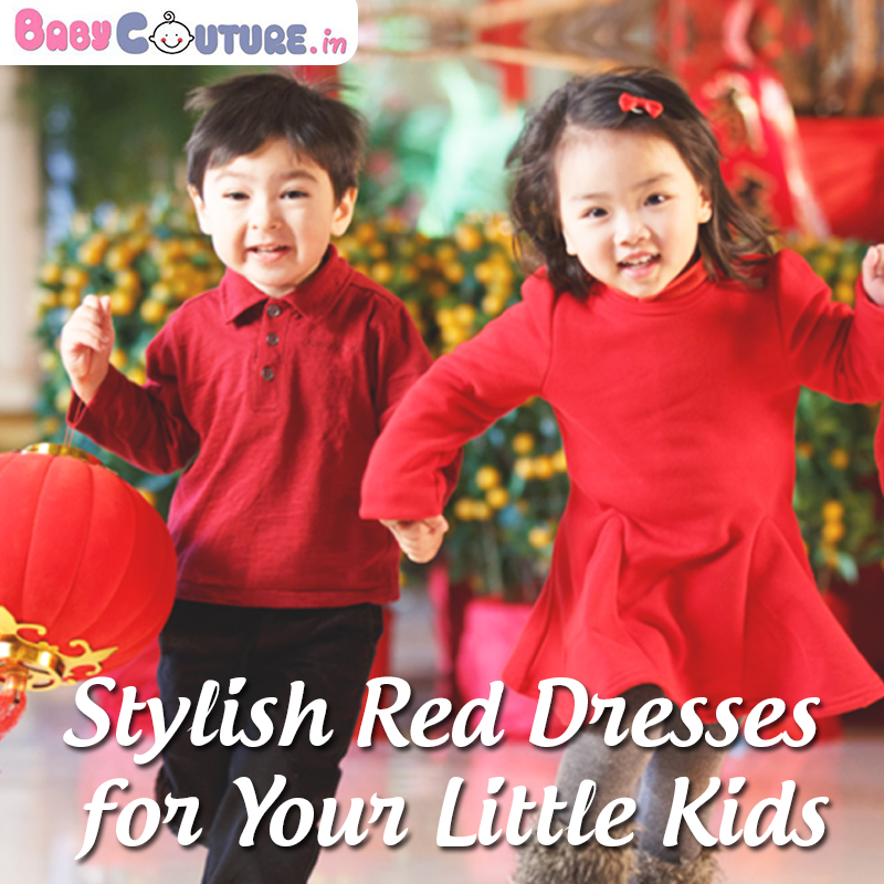 Exclusive Little Kids Red Dresses at BabyCouture!