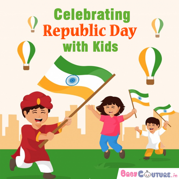 Celebrating republic day with kids