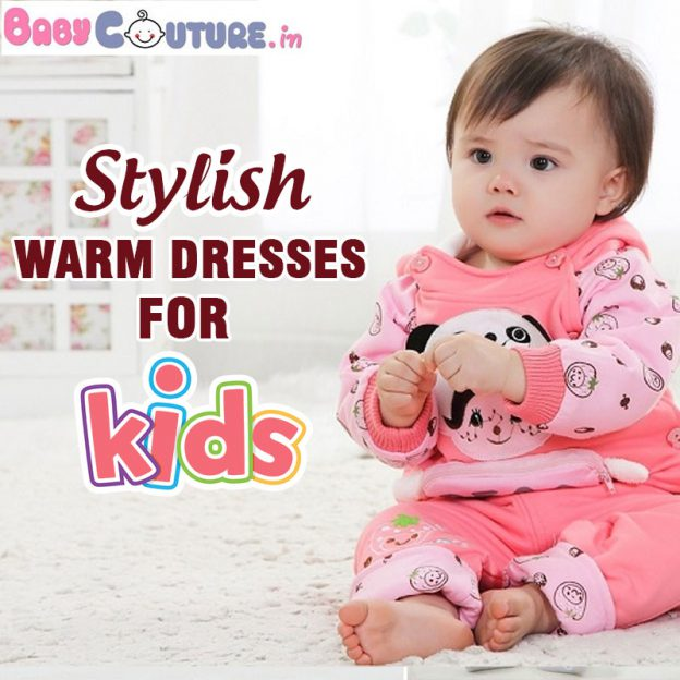 Welcome Spring with Our Stylish Warm Dresses for Kids!