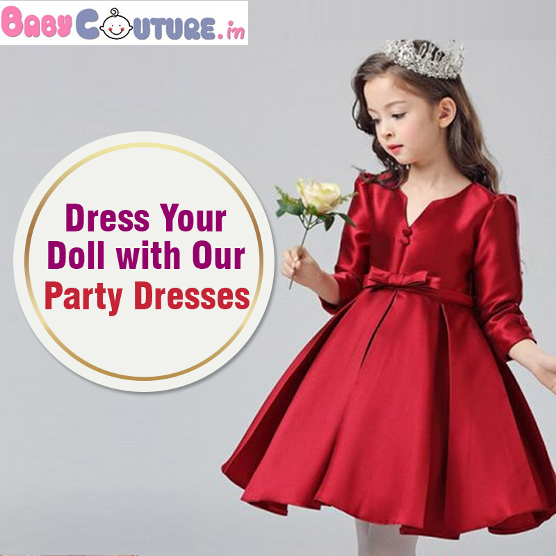 Increase Your Little Girl Charm with Our Party Dresses!