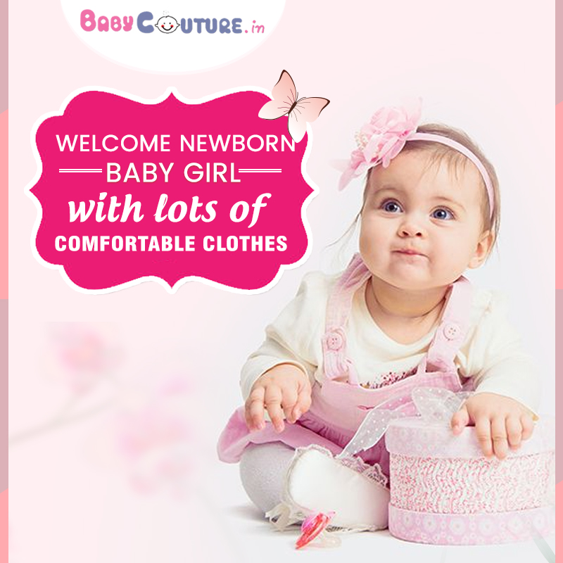 6bfa70fbb99b Happy Parenting! Tips to Choose Clothes for Newborn Baby Girl