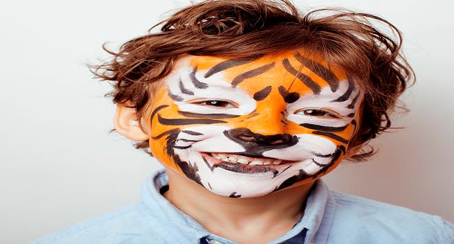 Tiger or Roaring Facepaint