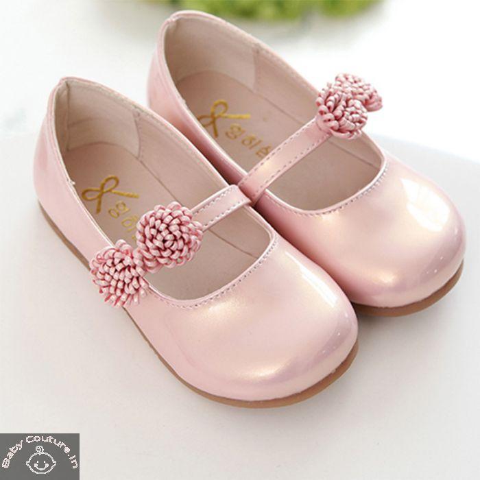Baby Pink Flower Kids Sandal