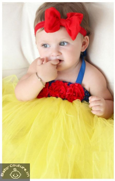 5e6f35629da Snow White Princess Tutu Dress-.babycouture.in