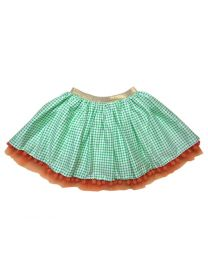 Bambiola Adorable Pom Pom Love Baby Girl Skirt-babycouture.in
