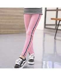 Baby Print Striped Kids Leggings-babycouture.in