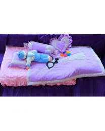 Baby Prints Bow Specs Theme Bedding Set-babycouture.in