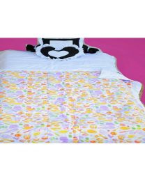 Baby Prints Heart And Soothing Print Baby Bedding Set-babycouture.in