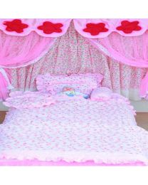 Baby Prints Pink Love Baby Bedroom Set -babycouture.in