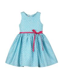 Bambiola Pretty Playful Print Baby Girl Dress-babycouture.in