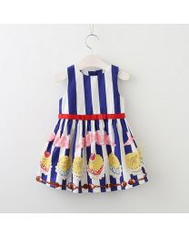 Cakes & Stripes Lovely Kids Dress-babycouture.in