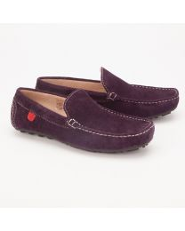 Careeno Cireo Purple Baby Boy Loafers-babycouture.in