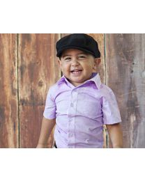 Cool lavender Self Lining Shirt-babycouture.in