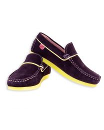 Careeno Crescendo Navy Baby Boy Loafers-babycouture.in