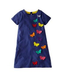 Cute 3D Butterfly Kids Tunic -babycouture.in