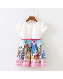 Disney Love Summer Kids Frock-babycouture.in