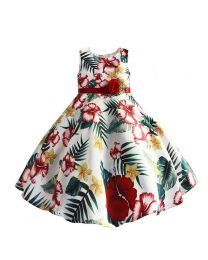 Floral Garden Lovely Kids Frock-babycouture.in