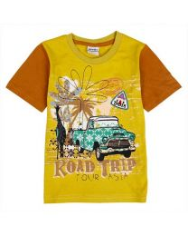 India Road Trip T-shirt-babycouture.in