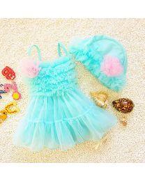 Minty Tutu Cute Swimwear-babycouture.in
