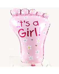 It's A Girl Balloon 36 Inch-babycouture.in