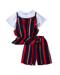 Lilpicks Smart Multicolor Girls 3pc Set-babycouture.in