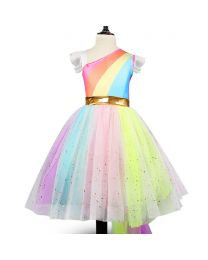 Lovely Unicorn Birthday Tutu Dress-babycouture.in