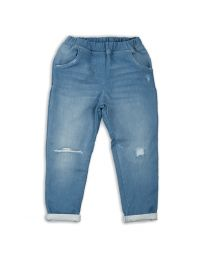 MT Deep Inside Ocean Blue Rugged Kids Jeggings-babycouture.in