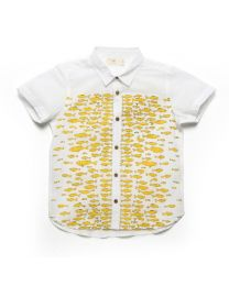 MT Deep Inside Ocean Eel Fish Shirt Baby Boy Shirt-babycouture.in
