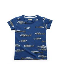 MT Marine Friend Blue Aquatic World Kids Tee-babycouture.in