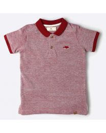 MT Marine Friend Red Cute Remora Kids Tee-babycouture.in