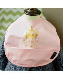 Petit Royal Waterproof Bib-babycouture.in