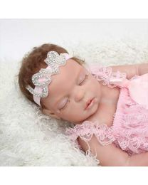 Pink Love Studded Headband-babycouture.in