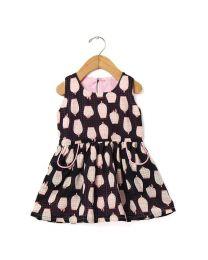 Tia's Bird Cage Kids Dress-babycouture.in